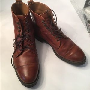 Allen Edmonds Andover 9D brown over the ankle boot